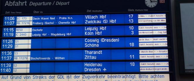 Bahnstreik Aktuell Langster Streik Der Geschichte