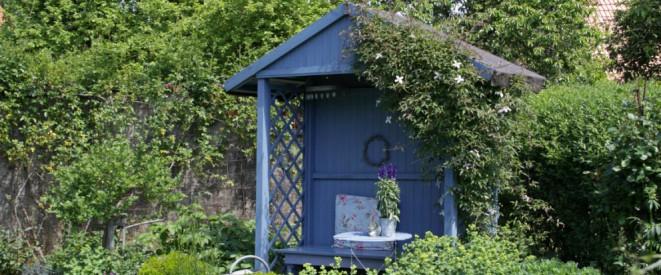 Berühmt Gartenhaus: Wann die Baugenehmigung nötig ist FN97