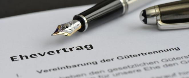 Ehevertrag Wann Die Vereinbarung Sinnvoll Ist