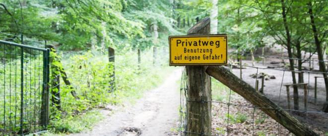 Privatweg Was Gilt Für Benutzung Und Winterdienst