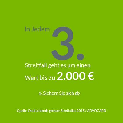 06_ADVOCARD_In jedem 3-Streitfall geht es um Werte bis zu 2-000 Euro