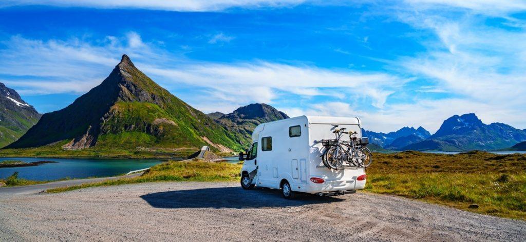 Wohnmobil im Urlaub