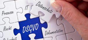 Puzzle mit DSGVO Logo