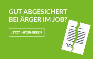 Alle Informationen zur Arbeitsrechtsschutz von ADVOCARD